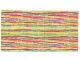 Part No: x883pb01  Name: Scala Cloth Blanket 22 x 12, Multi-Color Stripes Pattern (#3142)