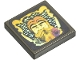 Part No: 3068bpb0063  Name: Tile 2 x 2 with Groove with HP Dumbledore Hologram Pattern (Sticker) - Sets 4708 / 4709