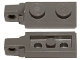 Part No: 44301a  Name: Hinge Plate 1 x 2 Locking with 1 Finger On End with Bottom Groove