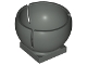 Part No: 44358  Name: Cylinder Hemisphere 2 x 2 Ball Turret Socket Base