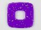 Part No: clikits201  Name: Clikits Icon Accent, Plastic Square 2 1/2 x 2 1/2