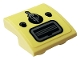 Part No: 32803pb003  Name: Slope, Curved 2 x 2 Inverted with Two Buttons, Ignition with Key and Air Vent Pattern (Sticker) - Set 10271