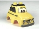 Part No: 95482pb01  Name: Duplo Car Body 2 Top Studs Compact with Cars Luigi Pattern