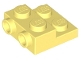 Part No: 99206  Name: Plate, Modified 2 x 2 x 2/3 with 2 Studs on Side