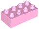 Part No: 3011  Name: Duplo, Brick 2 x 4