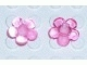 Part No: clikits022u  Name: Clikits Icon, Flower 5 Petals 2 x 2 Small with Pin - (Undetermined Version)