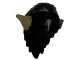 Part No: 10066pb01  Name: Minifigure, Hair Orc with Dark Tan Ears Pattern