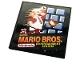 Part No: 10202pb021  Name: Tile 6 x 6 with Bottom Tubes with Game Cartridge 'SUPER MARIO BROS.', 'Nintendo' and 'ENTERTAINMENT SYSTEM' Pattern (Sticker) - Set 71374
