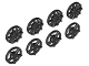 Part No: 18978  Name: Wheel Cover 5 Spoke and 10 Spoke for Wheel 18976, 8 in Bag - 4 of Each (Multipack)
