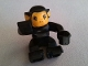 Part No: 2281px2  Name: Duplo Monkey, Bright Light Orange Face and Ears, Eyes Looking Forward