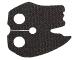 Part No: 23901  Name: Minifigure Cape Cloth, Tattered Edges (SW Kylo Ren)