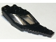 Part No: 24226c01  Name: Windscreen 8 x 3 x 1 1/3 Half Right with Two Panes, Pin Hole and Trans-Black Glass
