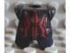 Part No: 2587pb05  Name: Minifigure, Armor Breastplate with Leg Protection, Vladek Geometric Pattern