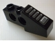 Part No: 2743pb01  Name: Technic, Slope Short (Wing Front) with Dark Gray Tread Plate Pattern (Sticker) - Set 8215