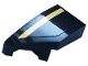 Part No: 29120pb010  Name: Wedge 2 x 1 x 2/3 with Stud Notch Left with Gold Stripe Pattern (Sticker) - Set 76899