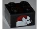 Part No: 3003pb075  Name: Brick 2 x 2 with White Mouse Pattern (Sticker) - Set 7637