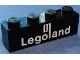 Part No: 3010p31  Name: Brick 1 x 4 with White Legoland Logo Pattern