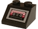 Part No: 3039pb116  Name: Slope 45 2 x 2 with Cassette Player Pattern (Sticker) - Set 76081