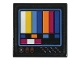 Part No: 3068bpb1206  Name: Tile 2 x 2 with Groove with TV Color Bars (Sticker) - Set 70831