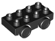 Part No: 31202c03  Name: Duplo Car Base 2 x 4 with Black Wheels