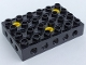 Part No: 31345c01  Name: Duplo, Toolo Brick 4 x 6 with Holes on Sides and Top and 3 Screws in Top