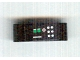 Part No: 32523pb06L  Name: Technic, Liftarm Thick 1 x 3 with Red, Green and White Buttons Pattern Model Left (Sticker) - Set 8010