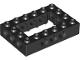 Part No: 32531  Name: Technic, Brick 4 x 6 Open Center
