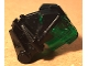 Part No: 32553c01  Name: Bionicle Head Connector Block 3 x 4 x 1 2/3 with Trans-Green Bionicle Head Connector Block Eye/Brain Stalk (32553 / 32554)