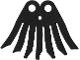 Part No: 33552  Name: Minifigure, Cape Cloth, 7 Points Long