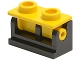 Part No: 3937c15  Name: Hinge Brick 1 x 2 Base with Yellow Hinge Brick 1 x 2 Top (3937 / 3938)