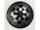 Part No: 3960pb040  Name: Dish 4 x 4 Inverted (Radar) with Solid Stud with Dejarik Table Pattern