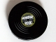Part No: 4150pb112  Name: Tile, Round 2 x 2 with Vinyl Record 'MONSTER ROCK' Pattern (Sticker) - Set 10228
