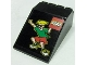 Part No: 4474pb002  Name: Windscreen 6 x 4 x 2 Canopy with LEGO Logo and Boy in Sunglasses Pattern (Sticker) - Set 3442