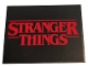 Part No: 4515pb058  Name: Slope 10 6 x 8 with Red 'STRANGER THINGS' on Black Background Pattern (Sticker) - Set 75810