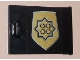 Part No: 4533pb010  Name: Container, Cupboard 2 x 3 x 2 Door with World City Gold Police Badge Pattern (Sticker) - Set 7033