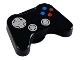 Part No: 53118pb01  Name: Minifigure, Utensil Video Game Controller with Silver Controls, Blue and Red Buttons Pattern