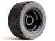 Part No: 54087c01  Name: Wheel 30.4mm D. x 20mm with No Pin Holes with Black Tire 43.2 x 22 ZR (54087 / 44309)