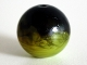 Part No: 54821pb02  Name: Bionicle Zamor Sphere (Ball) with Marbled Medium Lime Pattern (Palantír, Palantir)