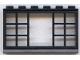 Part No: 604mi  Name: Minitalia Window 1 x 6 x 3 Panorama with 12 Panes
