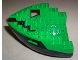 Part No: 6051c04  Name: Boat Hull Small Bow 12 x 12 x 5 1/3, Top Color Green