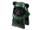 Part No: 64805pb04  Name: Minifigure, Head Modified SW Ewok with Dark Green Hood Pattern