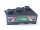 Part No: 6565pb10  Name: Wedge 3 x 2 Left with Red, Yellow and Green Console Display Pattern (Sticker) - Set 8479