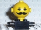 Part No: 685px5c01  Name: Homemaker Figure Torso Assembly and Yellow Head with Eyes, Eyebrows and Moustache Pattern