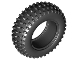 Part No: 69909  Name: Tire & Tread 75.1 x 28 Spiky Tread