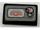 Part No: 85984pb246  Name: Slope 30 1 x 2 x 2/3 with SW First Order Transporter Screen and Lever with Red Button Pattern (Sticker) - Set 75103