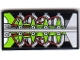 Part No: 87079pb0108  Name: Tile 2 x 4 with Silver, Red and Lime Engine Block Pattern  (Sticker) - Set 8899