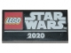 Part No: 87079pb0706  Name: Tile 2 x 4 with 'STAR WARS 2020' Pattern