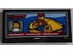 Part No: 87079pb0925  Name: Tile 2 x 4 with Coast Guard Rescue Controller and Minifigure with Life Raft on Screen Pattern (Sticker) - Set 60167
