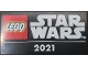 Part No: 87079pb0931  Name: Tile 2 x 4 with 'STAR WARS 2021' Pattern