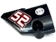Part No: 87080pb043  Name: Technic, Panel Fairing # 1 Small Smooth Short, Side A with 'light@night' and '52' Pattern (Sticker) - Sets 8041 / 42041